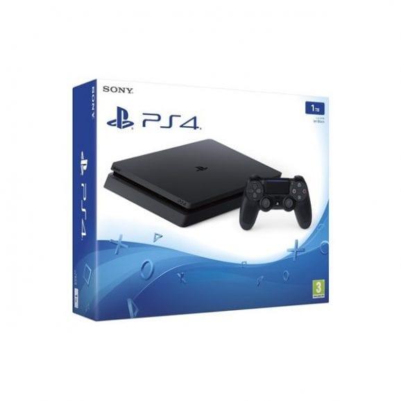 Sony PlayStation 4 Slim 1TB + פיפא 2018 ושני בקרים