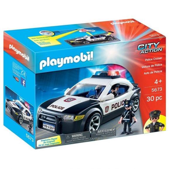 פליימוביל מכונית משטרה חדש 5673
