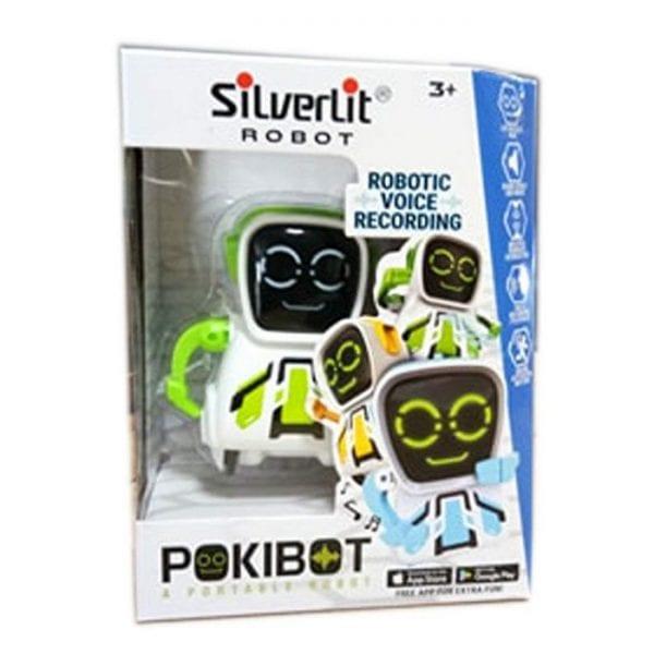 רובוט פוקיבוט אינטראקטיבי - לבן ירוק