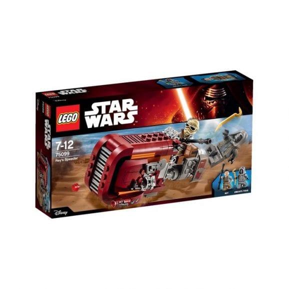 לגו מלחמת הכוכבים הרחפת של ריי 75099