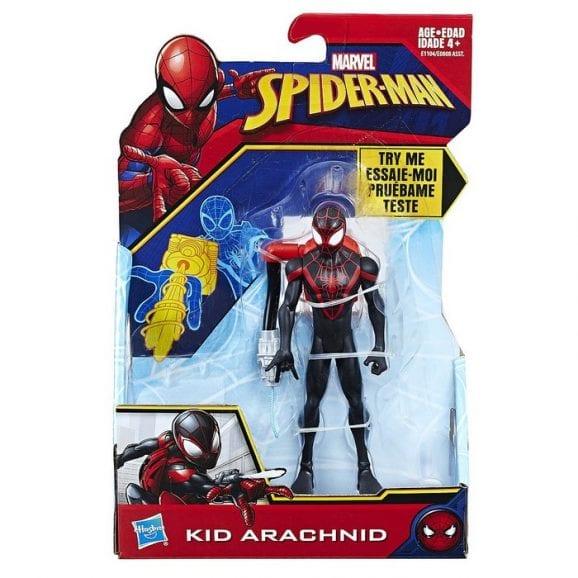 "KID ARACHNID גיבור על 15 ס""מ בהסוואה וציוד לחימה"