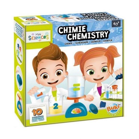 מיני מעבדת מדעי הכימיה לילדים