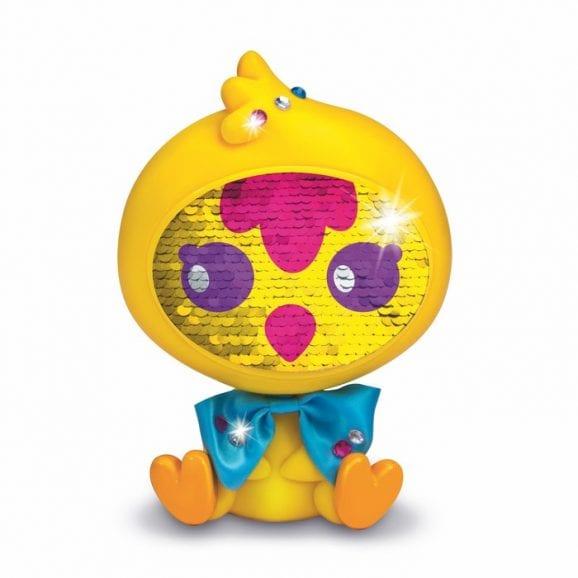 Zequins - בובת פאייטים צהוב