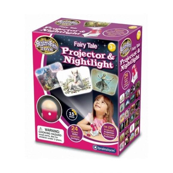 מנורת לילה ומקרן פיות