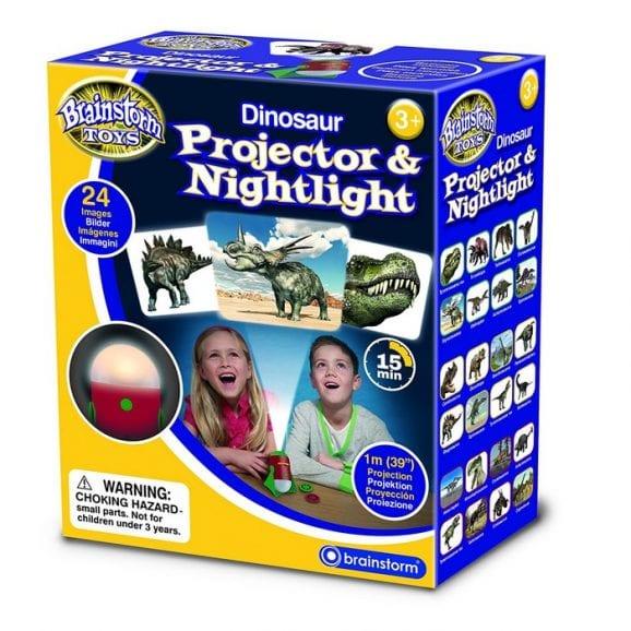 עודפים - מנורת לילה ומקרן דינוזאורים