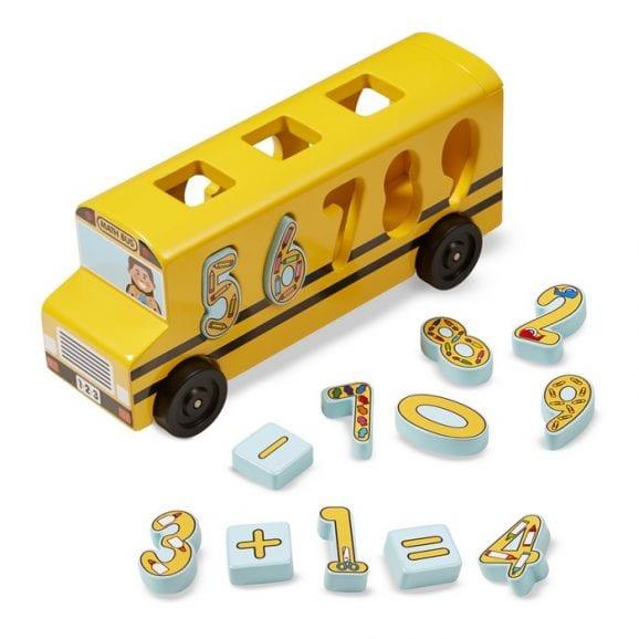 אוטובוס התאמת מספרים מעץ