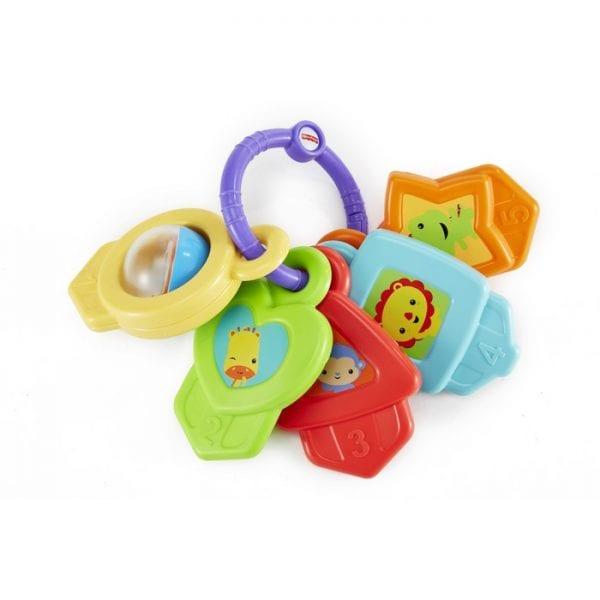צרור מפתחות צבעוני - פישר פרייס