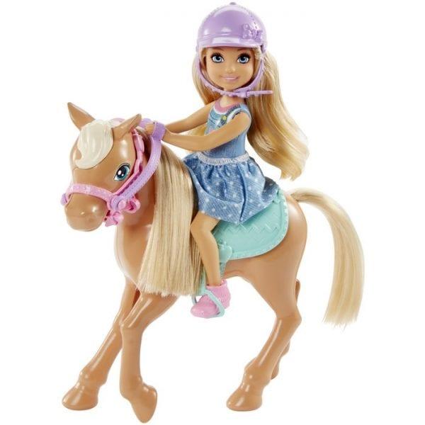 ברבי - צלסי עם סוס פוני