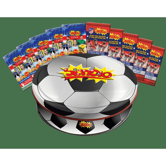 קופסת אספן עגולה סופרגול 2018-2019 & 5+5 סדרה 2