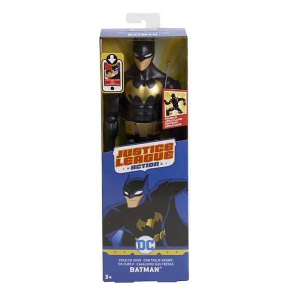 באטמן - דמות בחליפה שחורה