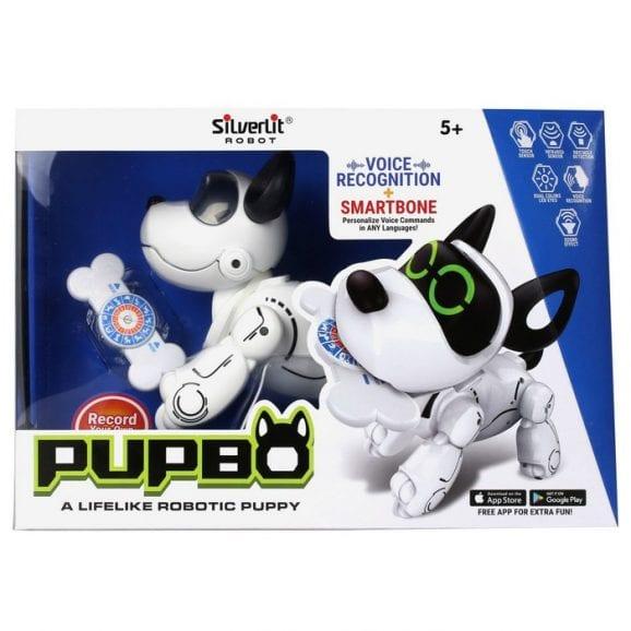 כלב אינטראקטיבי עם 12 פקודות קול - pubo