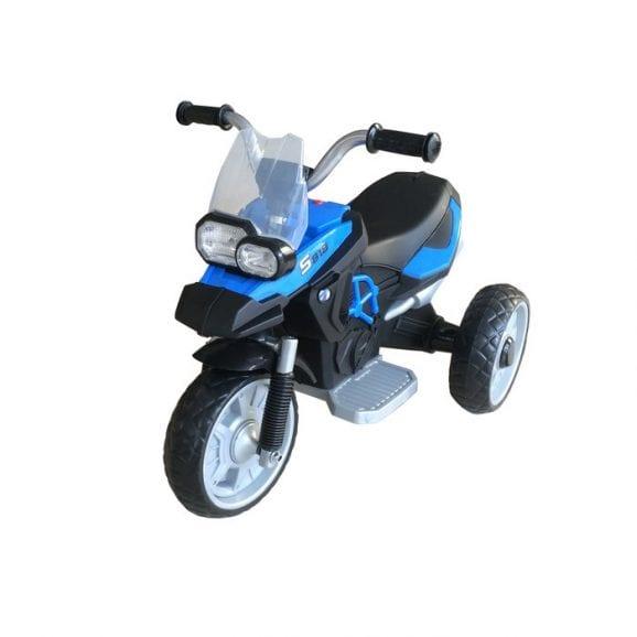 אופנוע ממונע קטן לילדים - כחול
