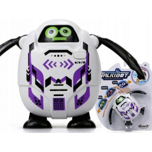 רובוט טוקיבוט מקליט בבליסטר - סגול