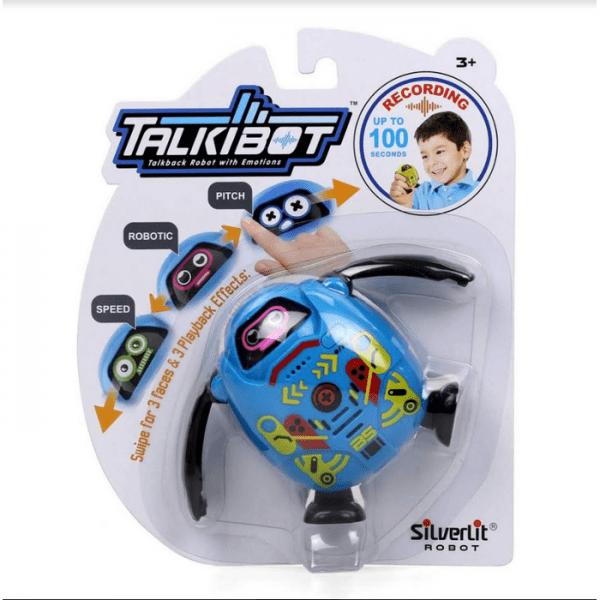 רובוט טוקיבוט מקליט בבליסטר - כחול