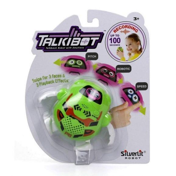 רובוט טוקיבוט מקליט בבליסטר - ירוק