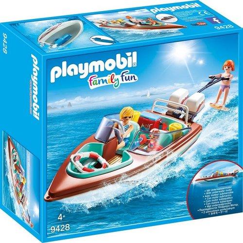 עודפים - פליימוביל סירת מירוץ עם מנוע תת ימי - 9428