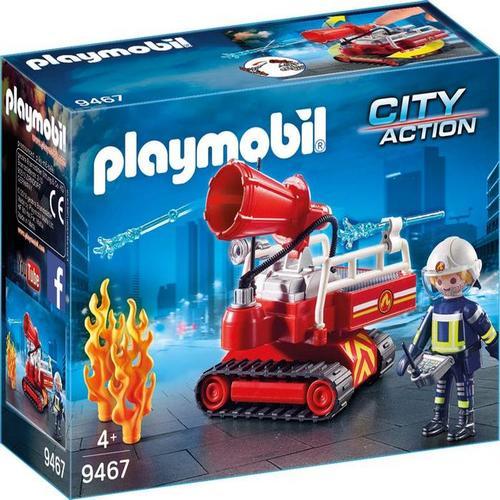 פליימוביל תותח מים לכיבוי אש - 9467