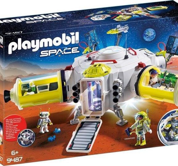 פליימוביל תחנת חלל מאדים - 9487