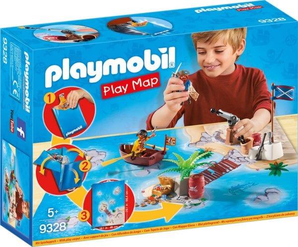 עודפים - פליימוביל הרפתקאות פיראטים מפת משחק - 9328