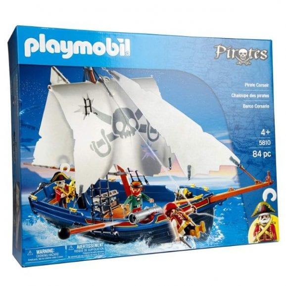 פליימוביל מגה סט ספינת פיראטים 5810
