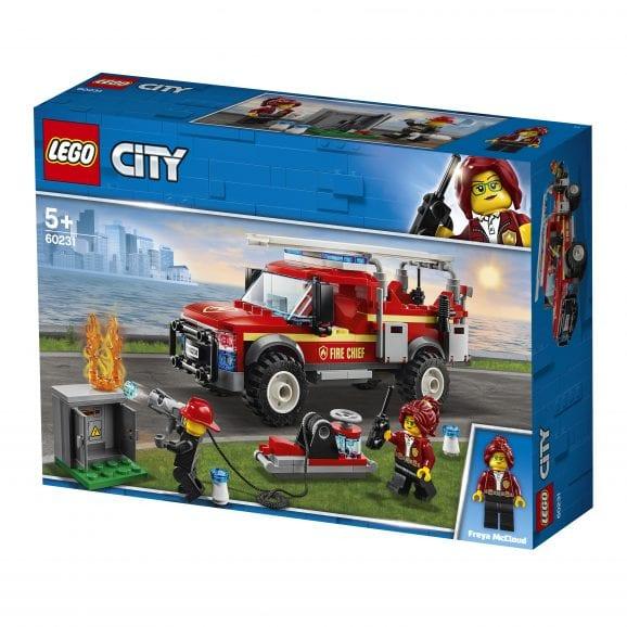 לגו-סיטי 60231 משאית באש