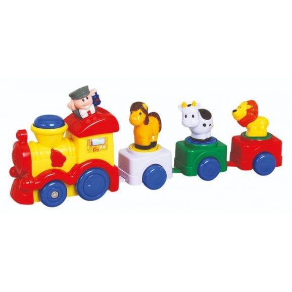 רכבת קטר + 3 חיות מוזיקלי