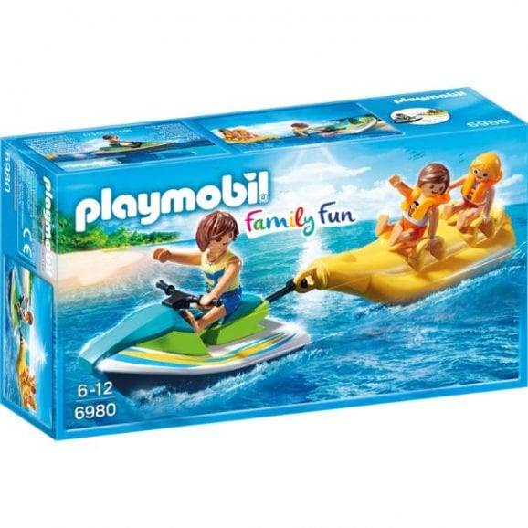 עודפים - פליימוביל פעילויות ספורט ימי - אופנוע ים וסירת בננה - 6980