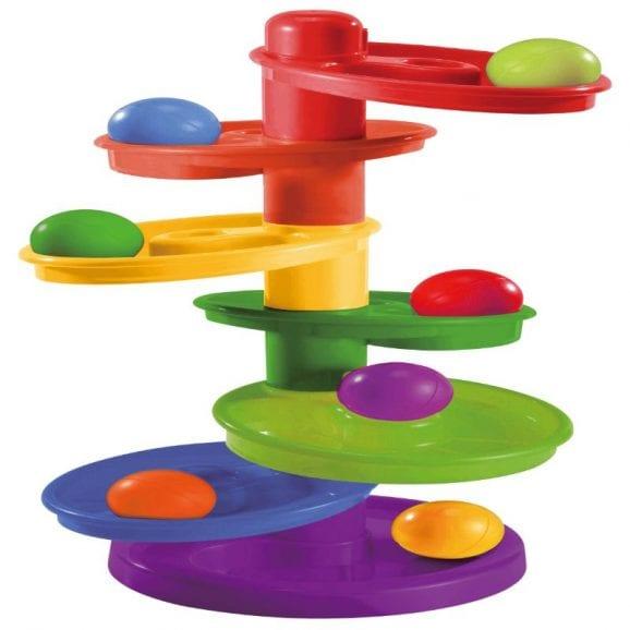 משחק כדורים נופלים – 7 קומות