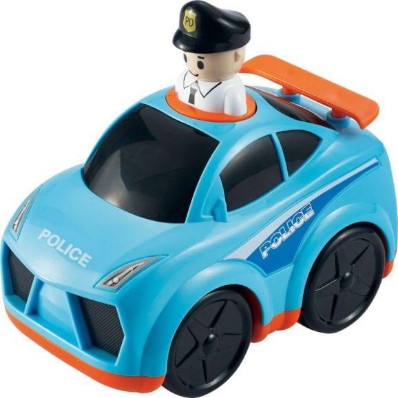 לחץ וסע רכב משטרה לילדים