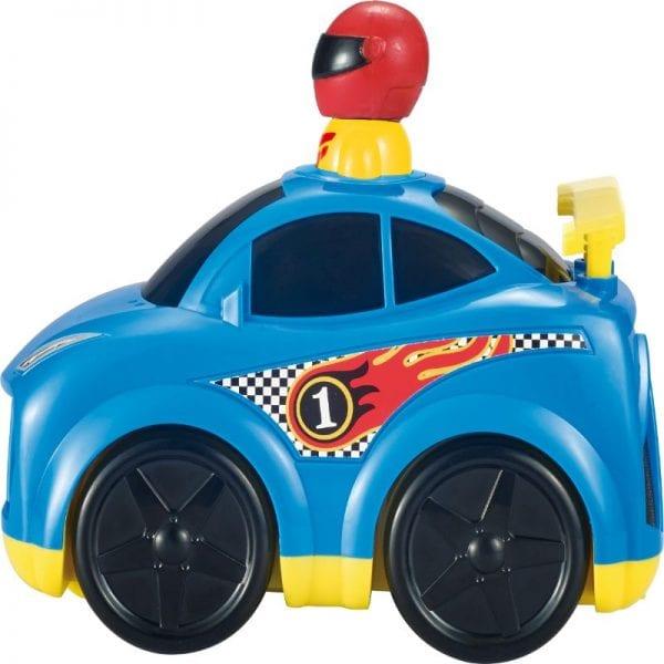 לחץ וסע מכונית מרוץ לילדים