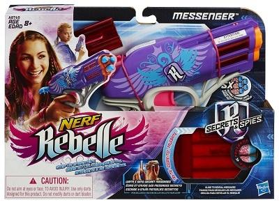 אקדח נרף A8760 NERF REBELLE MESSENGER