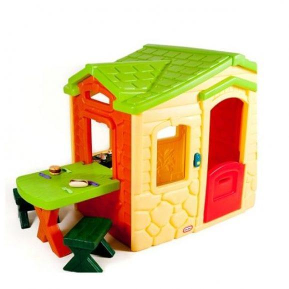 מתקן בית לחצר - פיקניק במרפסת צבעוני