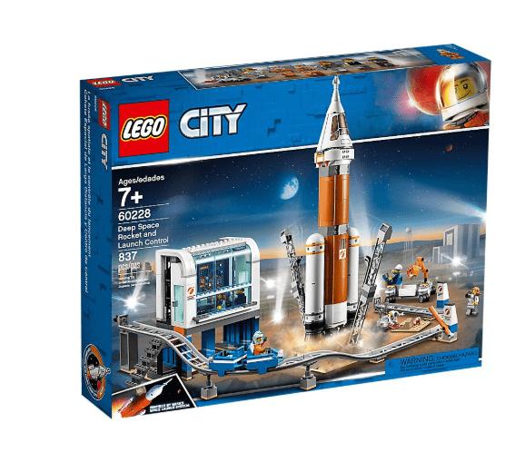 לגו-סיטי 60228 רקטות חלל