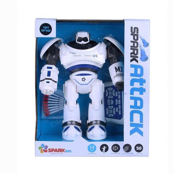 ספרק ווריור - רובוט שלט דובר עברית