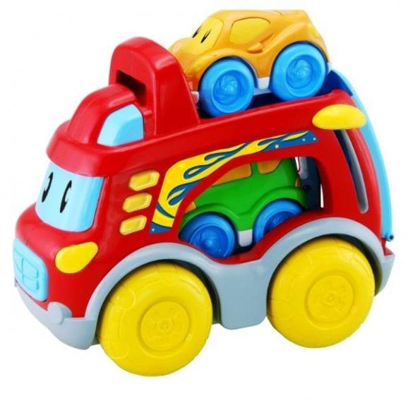 משחק סופר מוביל עם מכוניות