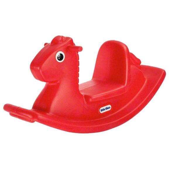 סוס נדנדה אדום
