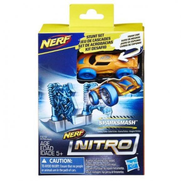 עודפים - נרף NITRO סט פעלולי מכונית sparksmash