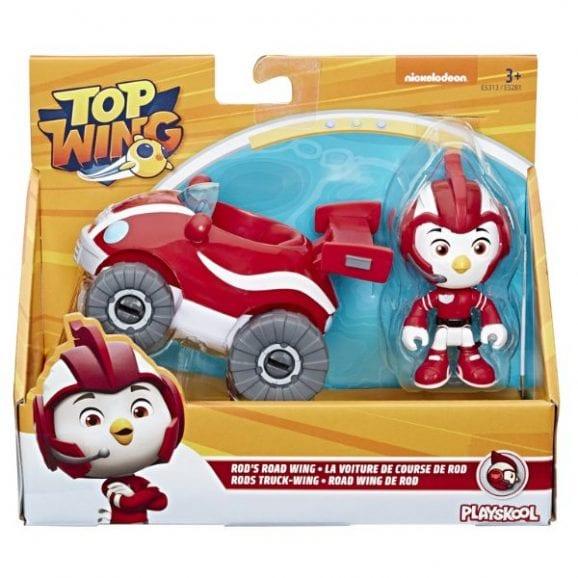 כנפי העל כלי רכב כולל דמות - דמות אדומה