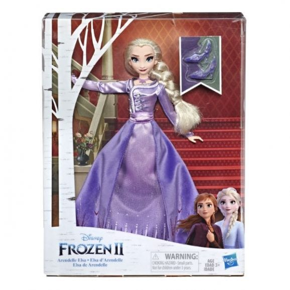 פרוזן 2 - אלזה הבובה האופנתית דלוקס