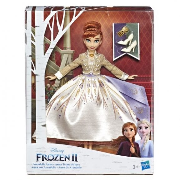 פרוזן 2 - אנה הבובה האופנתית דלוקס