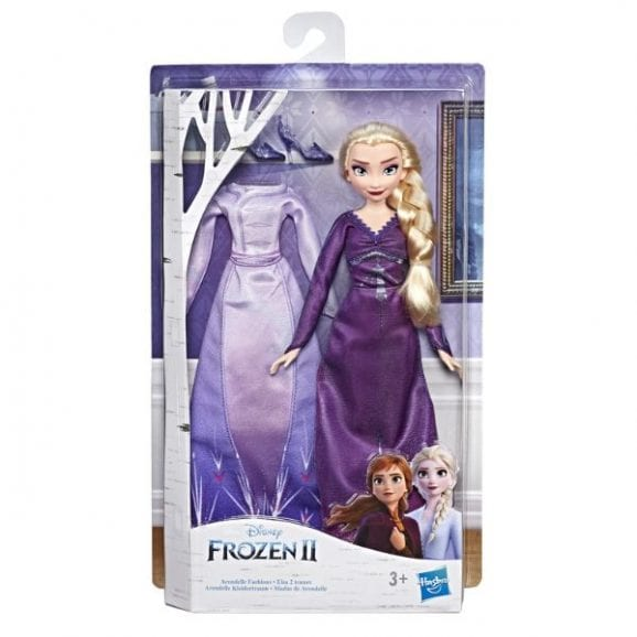 פרוזן 2 - אלזה הבובה האופנתית עם 2 תלבושות
