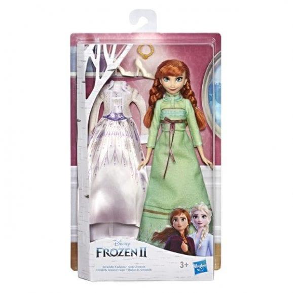 פרוזן 2 - אנה הבובה האופנתית עם 2 תלבושות