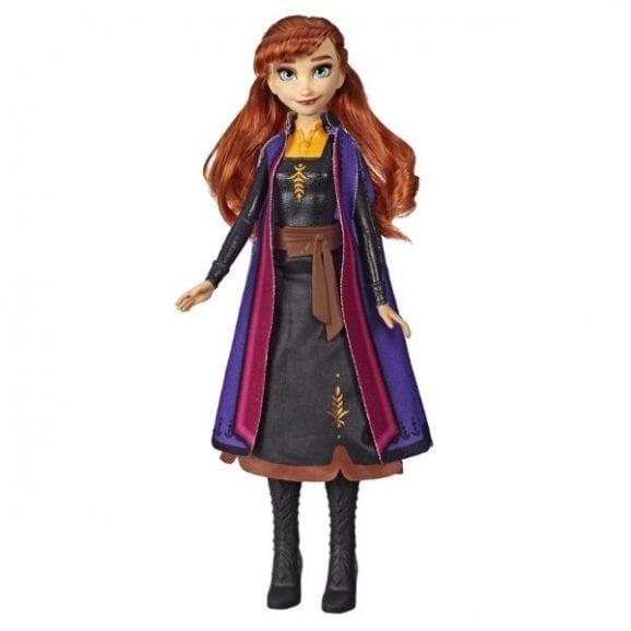 פרוזן 2 - אנה הבובה עם שמלת הקסם המוארת