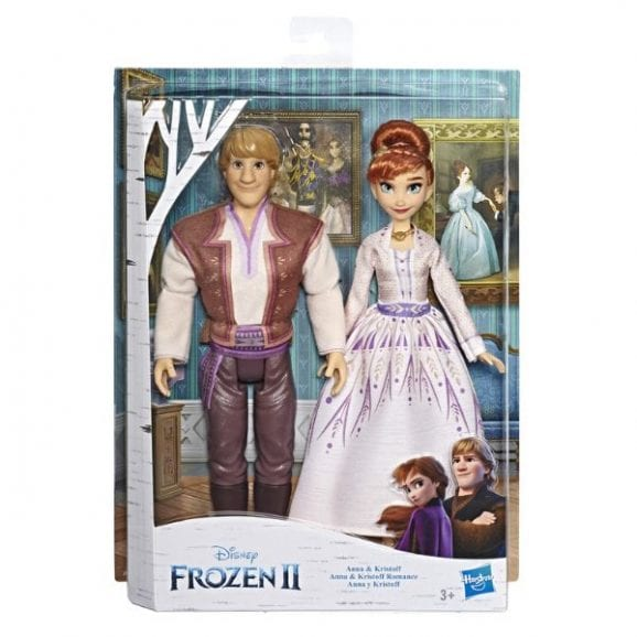 פרוזן 2 - בובות אנה וכריסטוף בנשף ריקודים