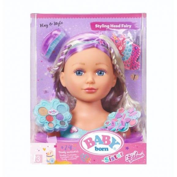 בייבי בורן ראש בובה פיה