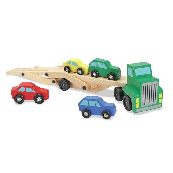 מליסה ודאג - מוביל מכוניות מעץ
