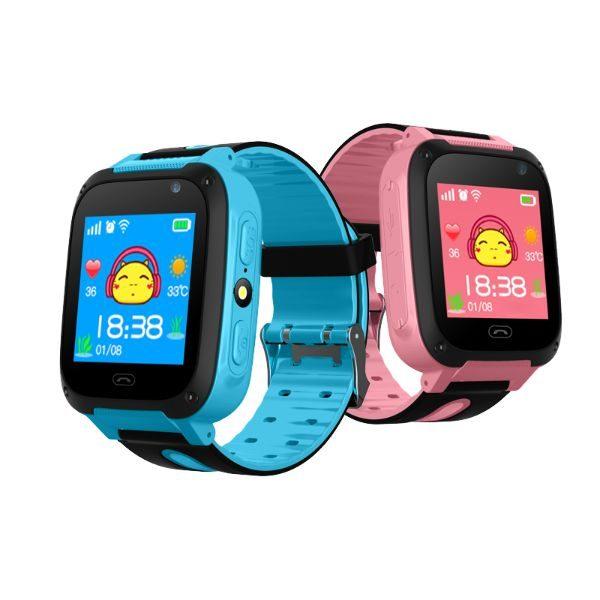 שעון טלפון חכם לילד - Junior lbs כחול + מצלמה