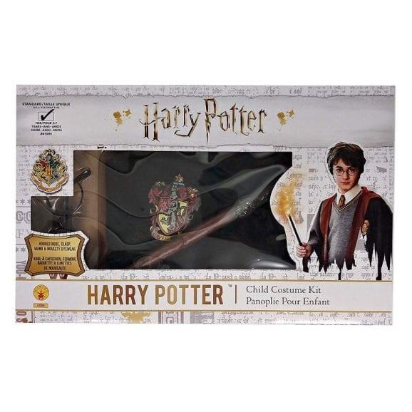 תחפושת הארי פוטר עם משקפיים ושרביט