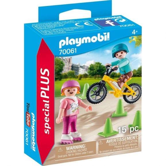 פליימוביל ילדים עם אופני BMX וגלגיליות 70061