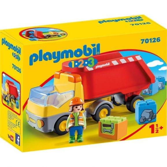 פליימוביל 1,2,3 משאית אתר בנייה לגיל הרך 70126